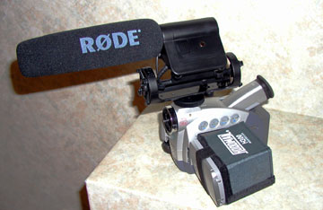 Rode VideoMic kamera mikrofon teszt