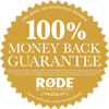 Kockázatmantes mikrofon vásárlás - Rode 100% MBG!