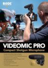 VideoMic Pro - Új professzionális videomikrofon a RODE kínálatában