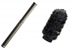 Rode NTG-2 puskamikrofon + WS6 szélfogó