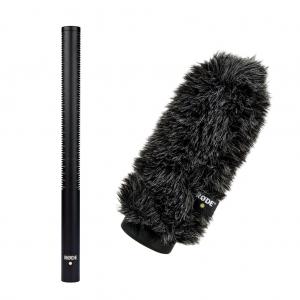 Rode NTG-3B puskamikrofon + WS7 szélfogó