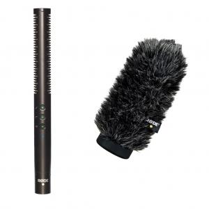 Rode NTG-4 puskamikrofon + WS6 szélfogó