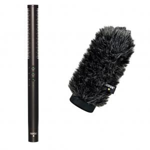 Rode NTG-4+ professzionális rövid puskamikrofon ajándék WS6 delux szélfogó szőrrel