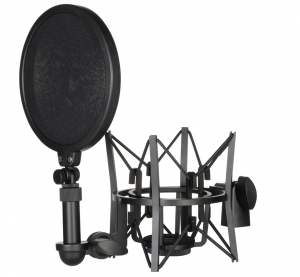Rode SM6 rezg�sg�tl� mikrofonfog� �s POP Filter
