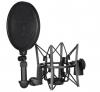 Rode SM6 rezgésgátló mikrofonfogó és POP Filter